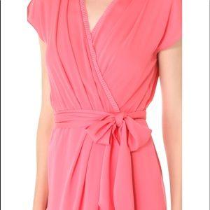 DVF Mateo Silk Wrap Dress Size 2